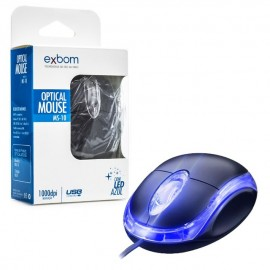 Mouse Usb Ms-10 Exbom