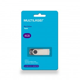Pen Drive 8gb Twist Multilaser