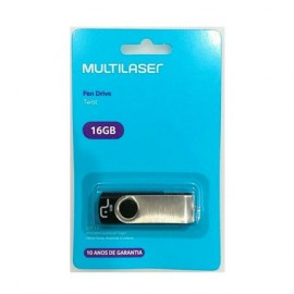 Pen Drive 16gb Twist  Multilaser